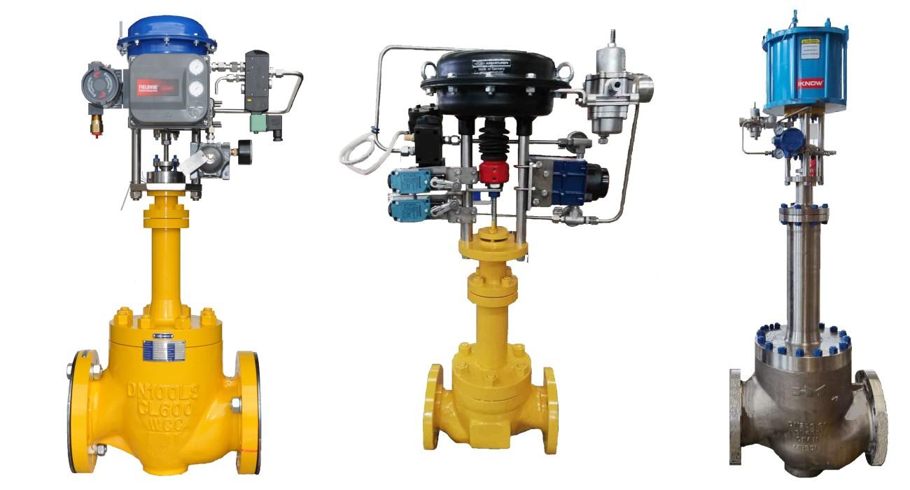 control valve range