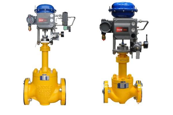 bellows seal control valves