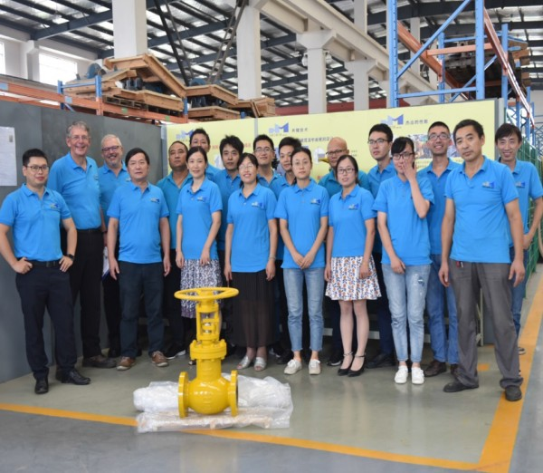 chemical valve factory staff