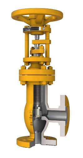 manual hazardous chemical valve