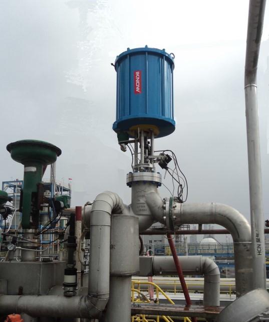 hydrogen cyanide valve