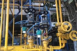 liquid chlorine skid